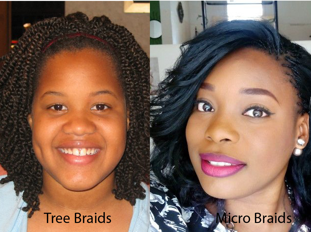 Tree Braids vs Micro Braids 8