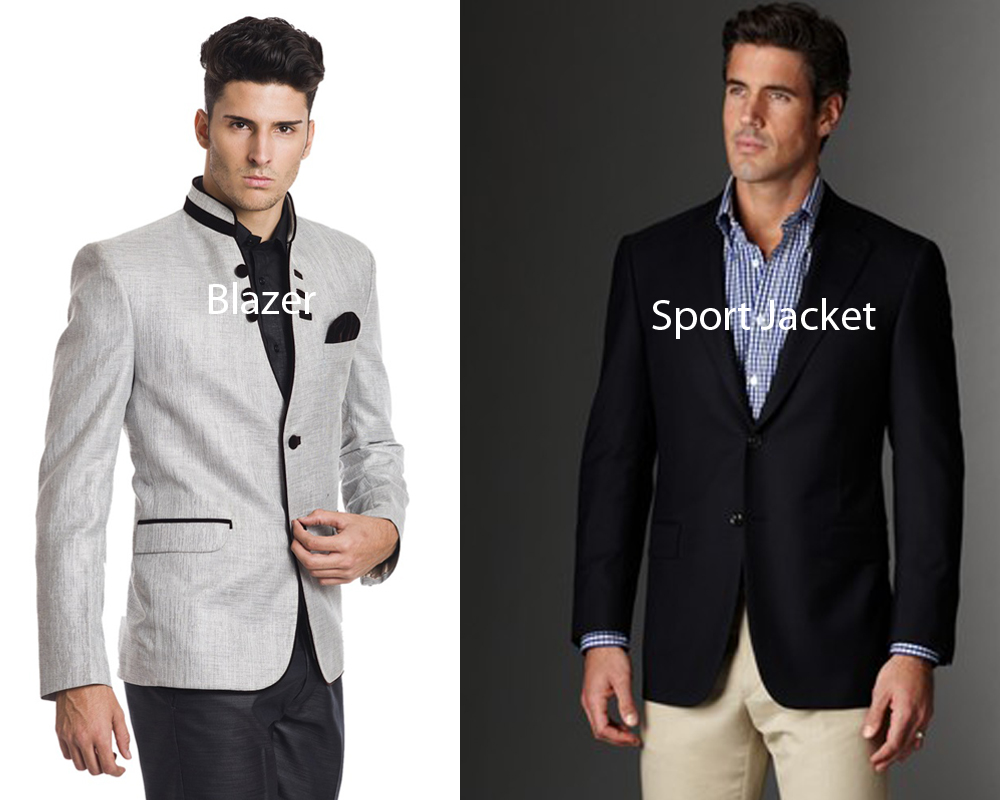 "103 thoughts on ""Learn the Difference Between a Blazer and a Sport/Suit Jacket"""