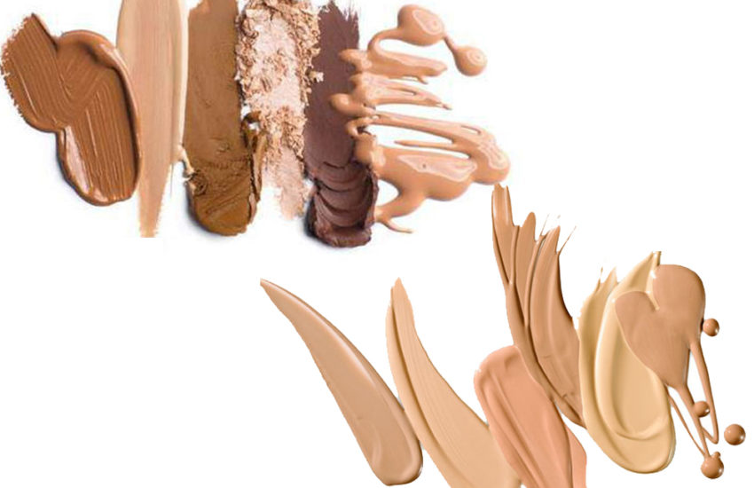 Concealer vs Foundation c