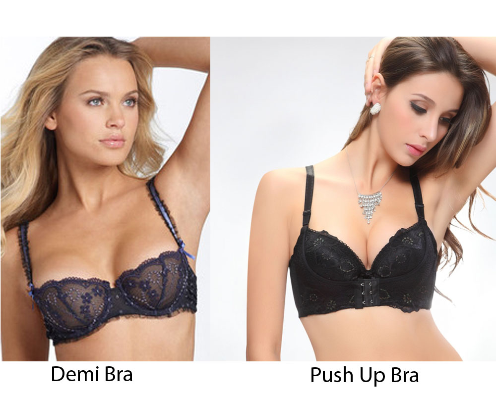 Demi Bra vs Push Up Bra 1