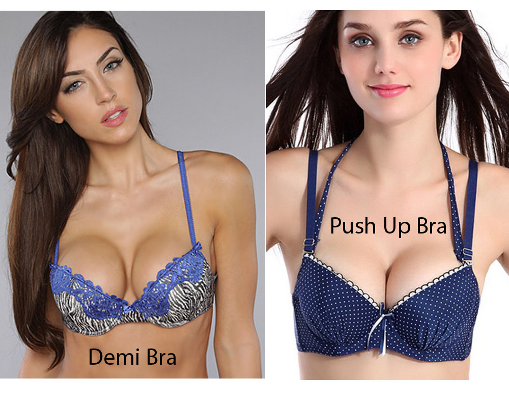 Demi Bra vs Push Up Bra 3