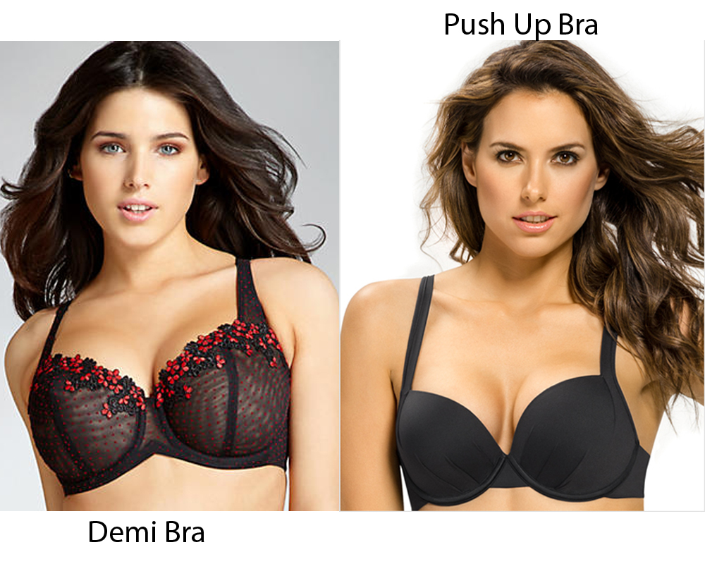 Demi Bra vs Push Up Bra 4