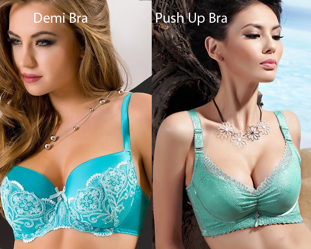 Demi Bra vs Push Up Bra 5