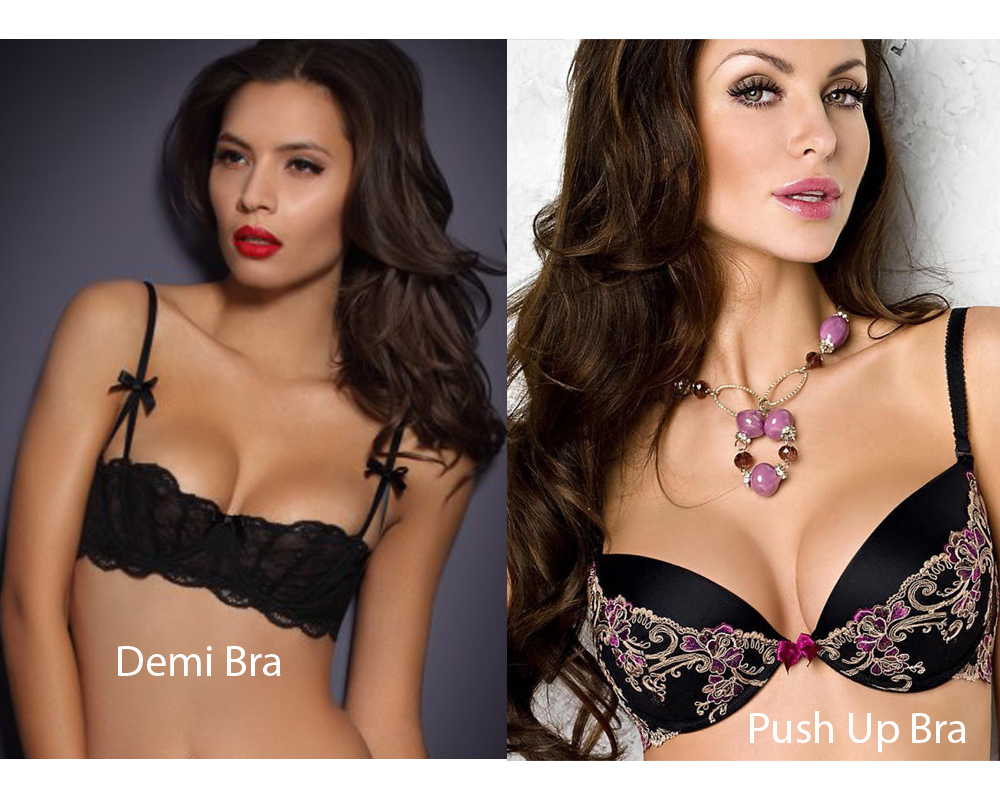 Demi Bra vs Push Up Bra 8