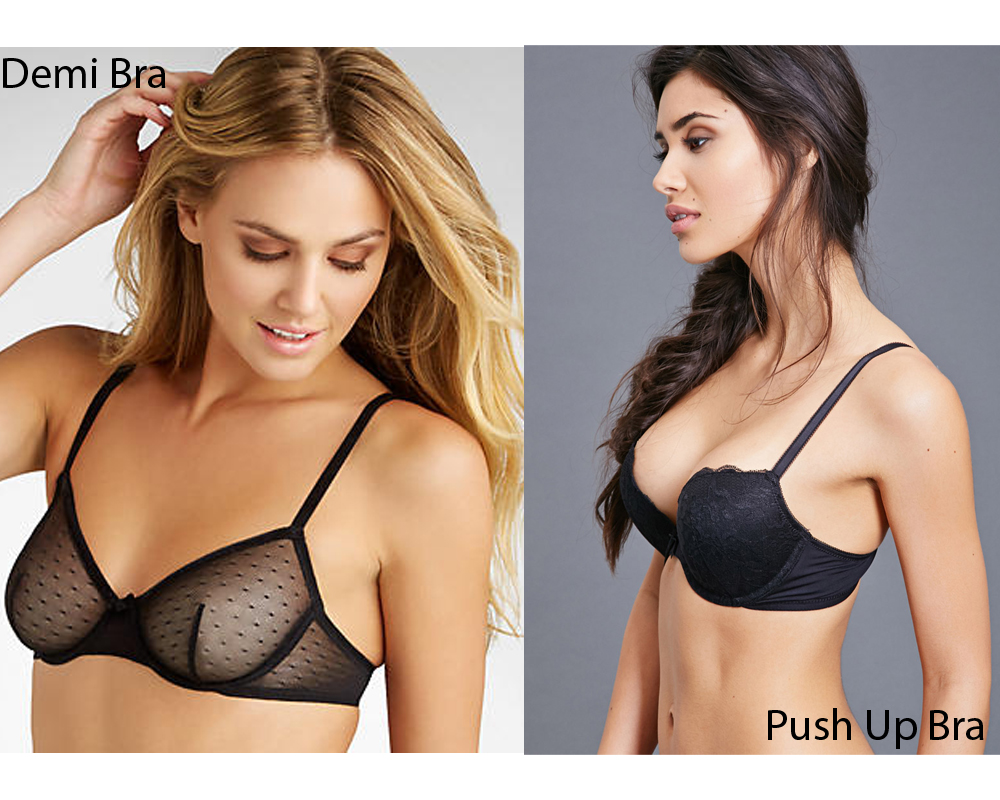 Demi Bra vs Push Up Bra 9