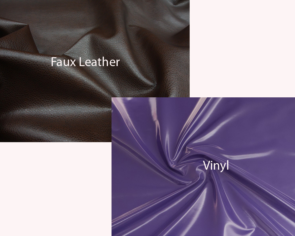 Faux Leather vs Vinyl 1