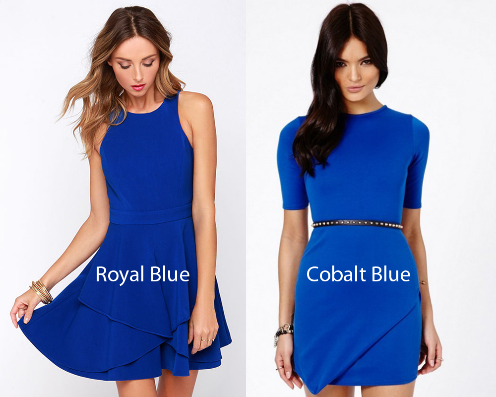 Royal Blue vs Cobalt 5