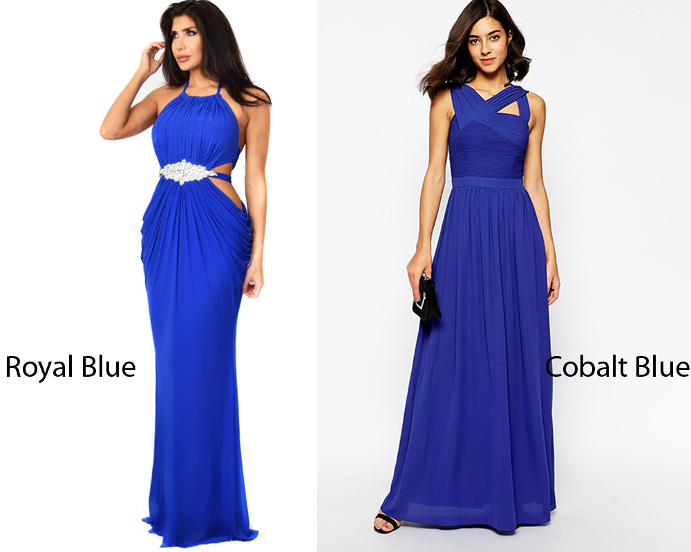 Royal Blue vs Cobalt 6