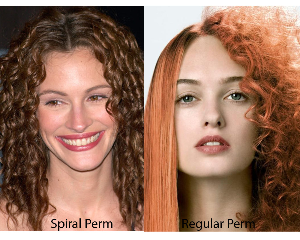 Spiral Perm vs Regular Perm 6