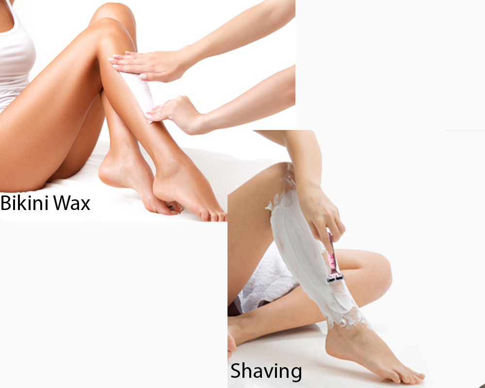 Bikini Wax vs Shaving 1