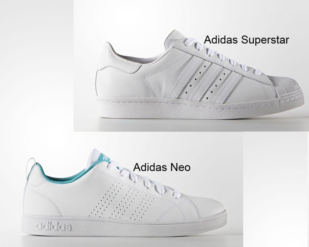 Alta qualit ADIDAS ADVANTAGE LINEA SUPERSTAR vendita