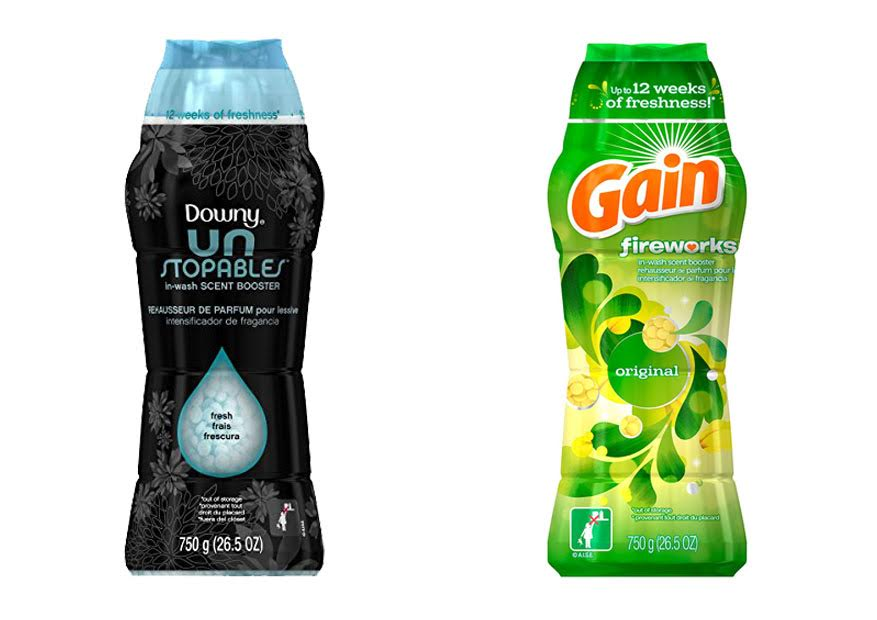 Downy Unstopables vs Gain Fireworks