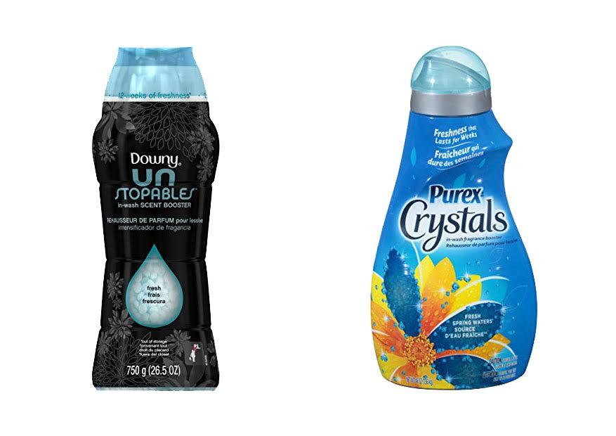 Downy Unstopables vs Purex Crystals