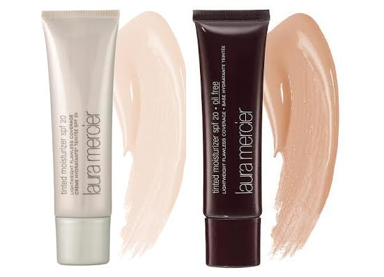 Laura Mercier Tinted Moisturizer vs Oil free