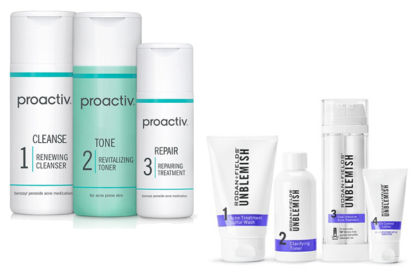 Proactive vs Rodan and Fields Unblemish