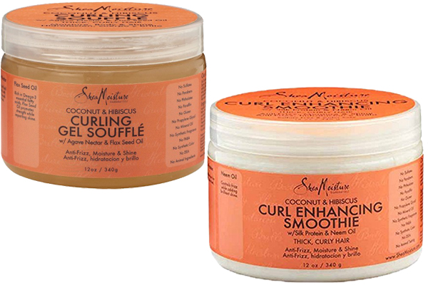 Shea Moisture Curling Souffle vs Curl Enhancing Smoothie