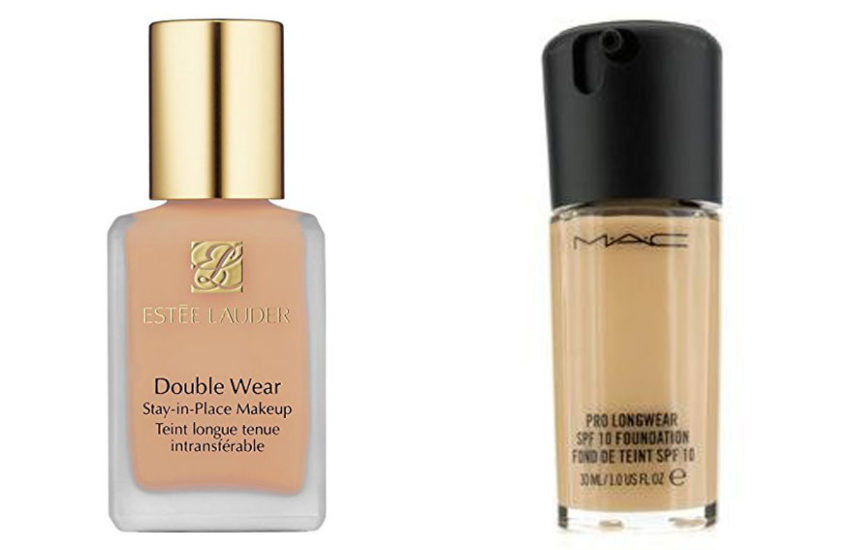 Estee Lauder Double Wear vs Mac Pro Longwear