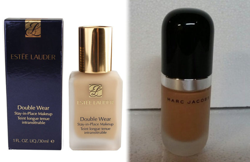 Estee Lauder Double Wear vs Marc Jacobs Remarcable