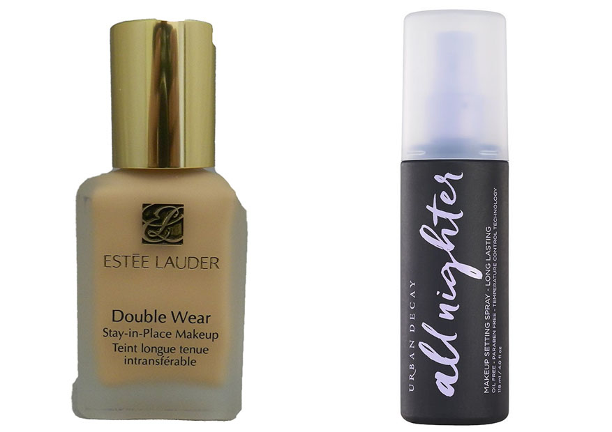 Estee Lauder Double Wear vs Urban Decay All Nighter