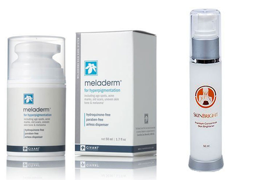 Meladerm vs SkinBright