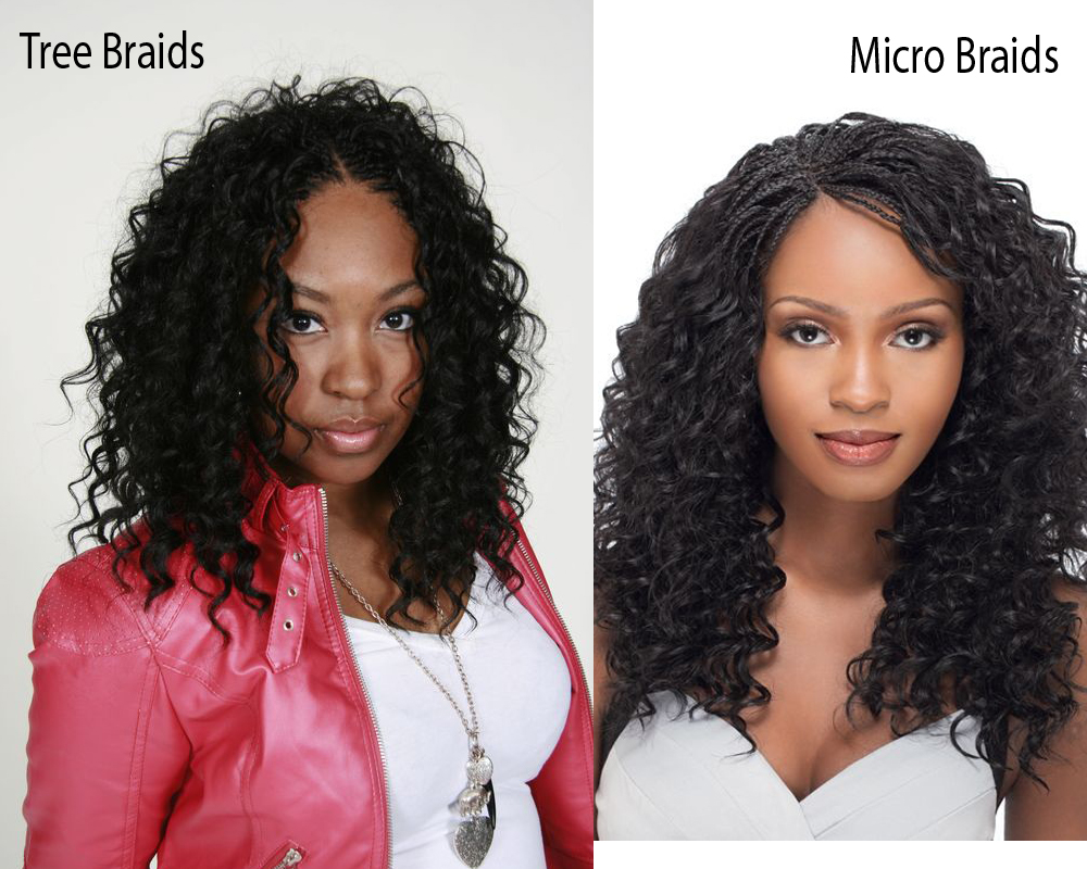 Tree Braids vs Micro Braids 1