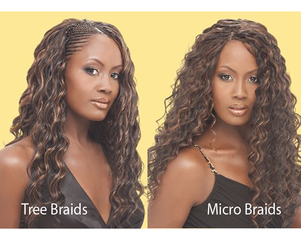 Tree Braids vs Micro Braids 2