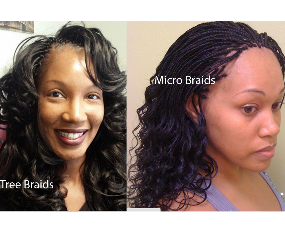 Tree Braids vs Micro Braids 3
