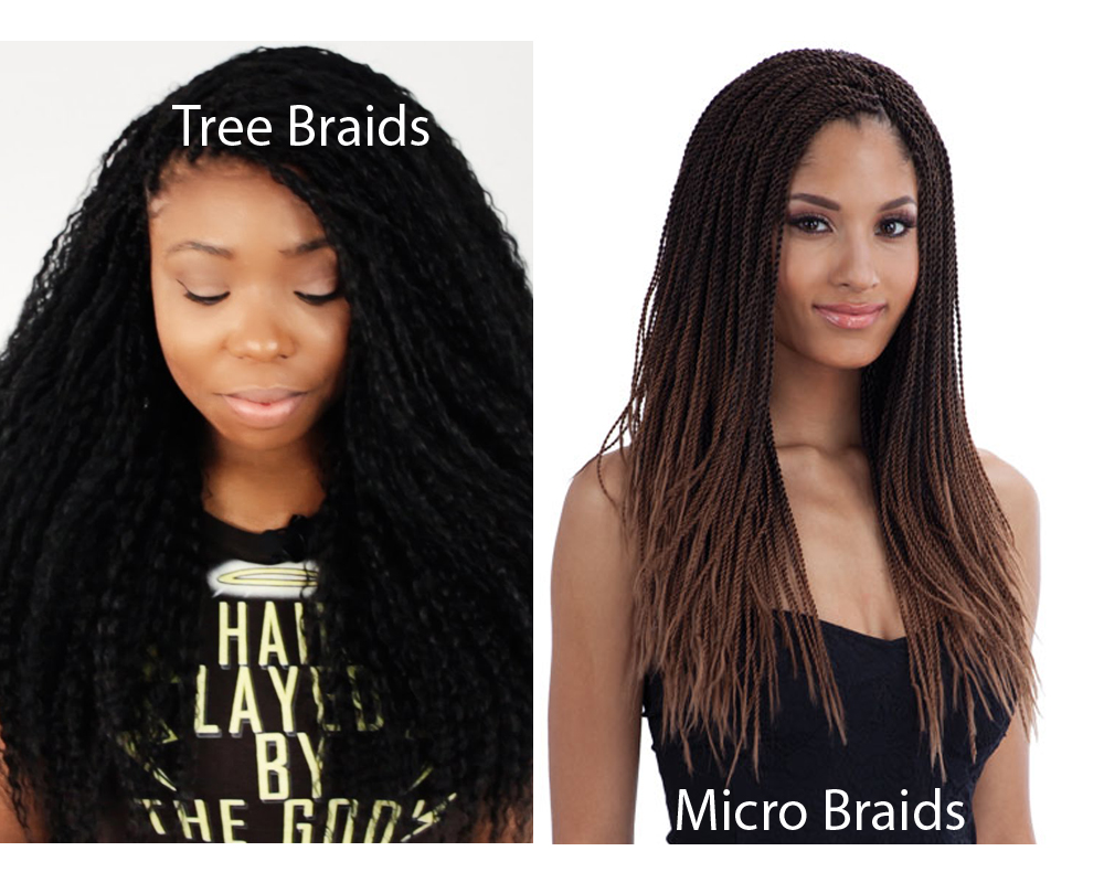 Tree Braids vs Micro Braids 4