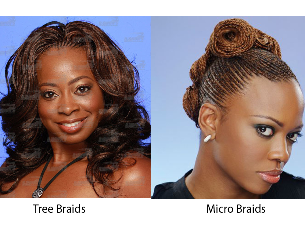 Tree Braids vs Micro Braids 5