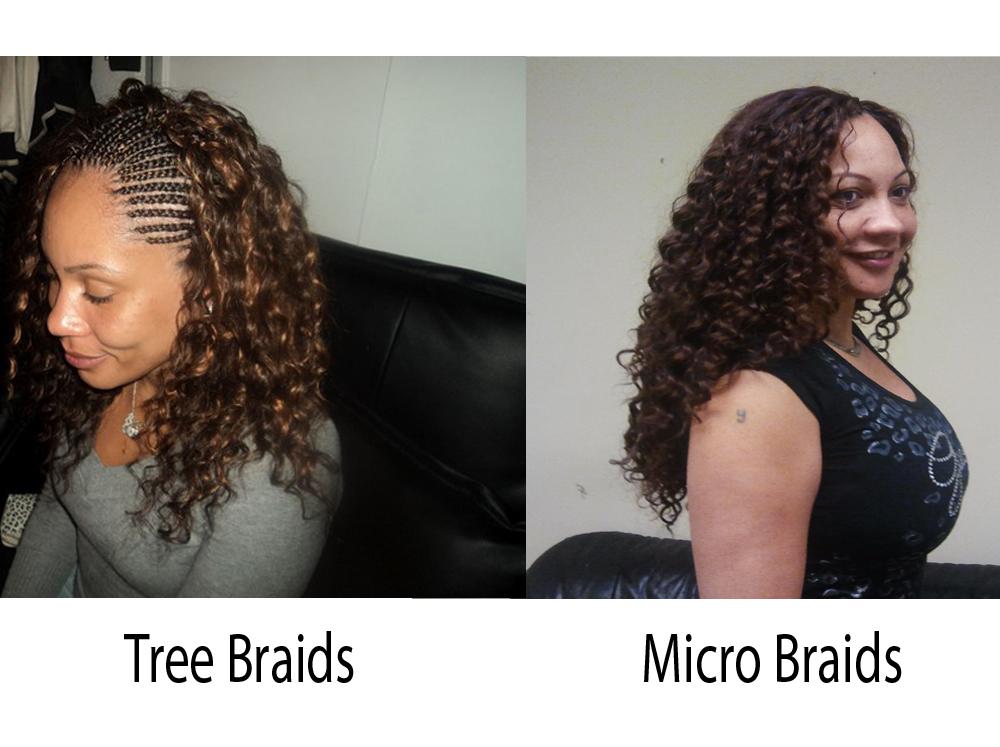 Tree Braids vs Micro Braids 7