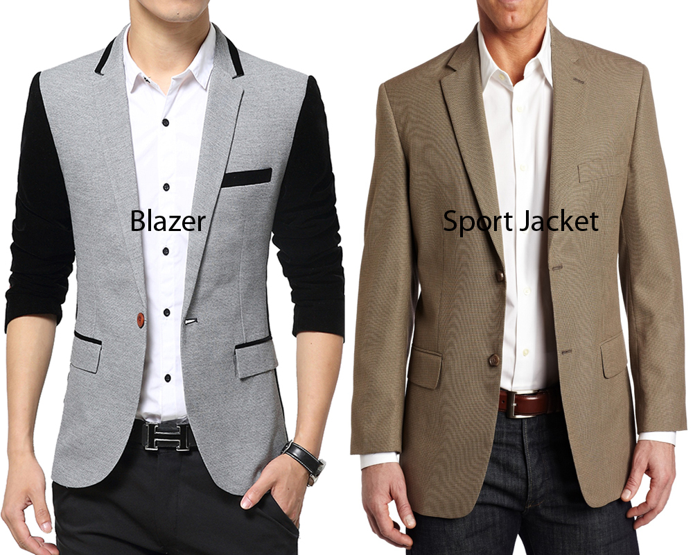 Blazer vs Sport Jacket 1