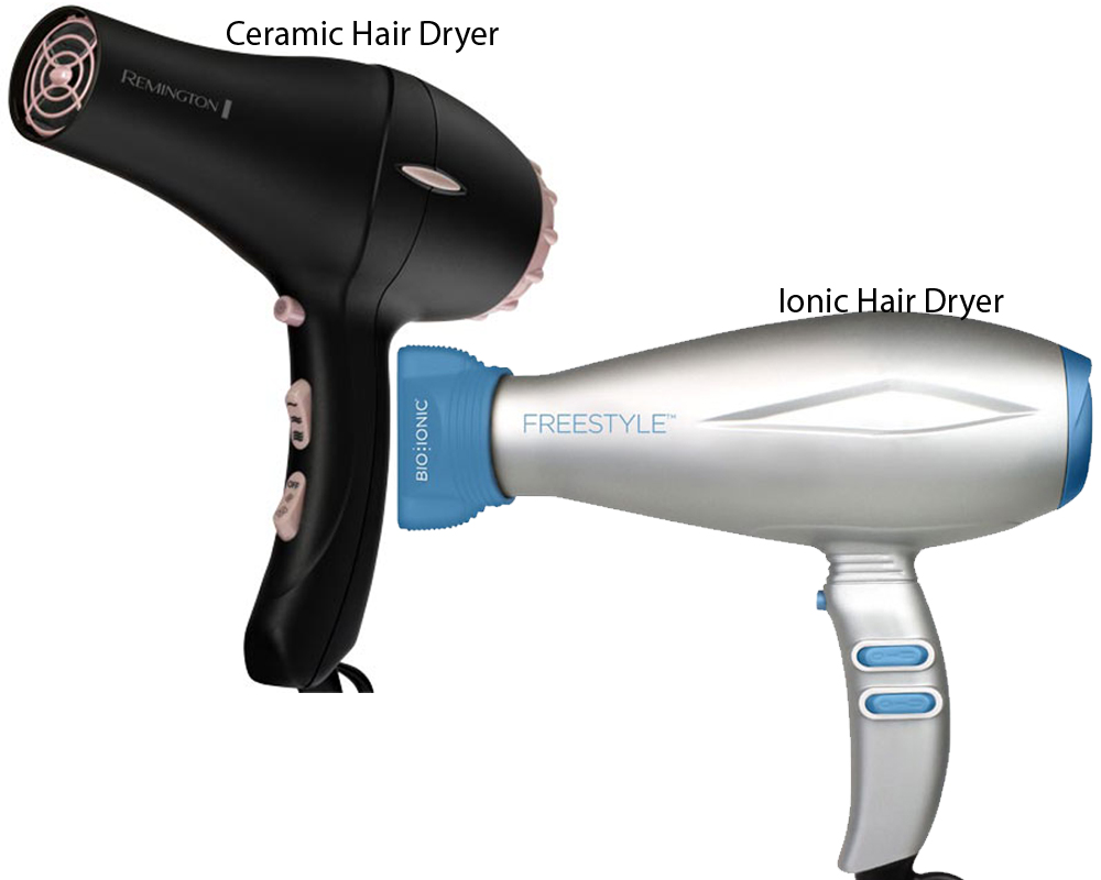 Ceramic vs Ionic Hair Dryer 1
