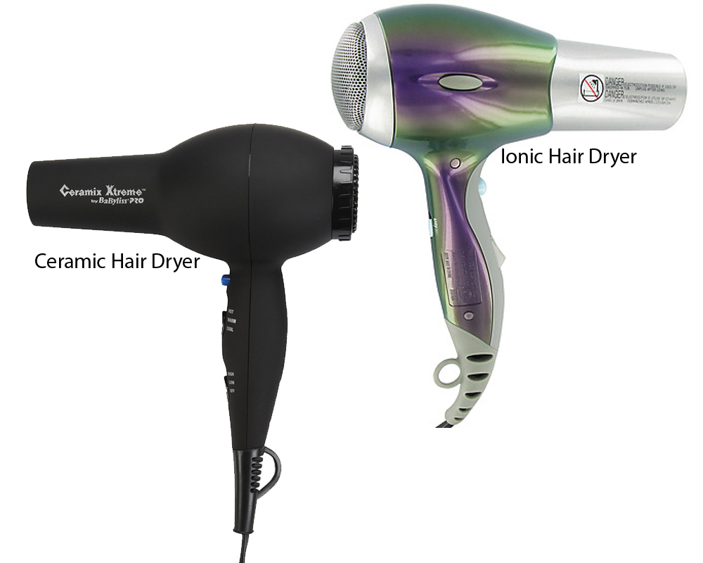 Ceramic vs Ionic Hair Dryer 2