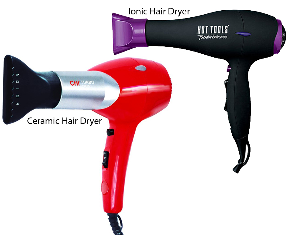 Ceramic vs Ionic Hair Dryer 3