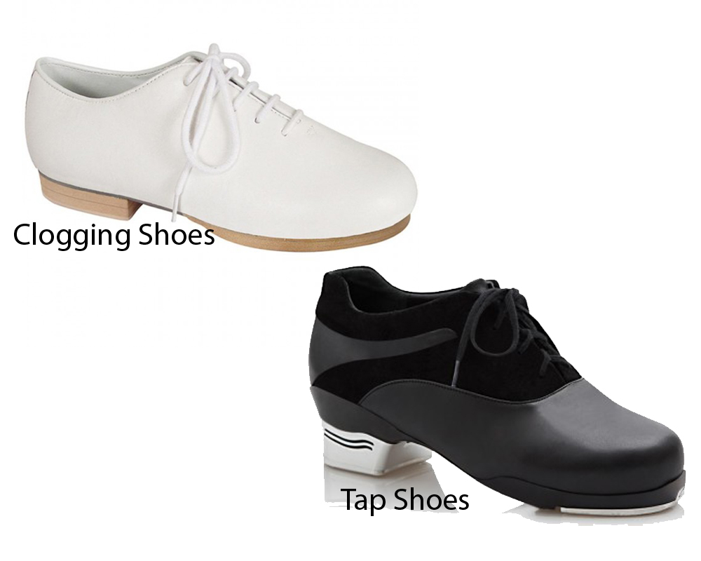 Clogging Shoes vs Tap Shoes 1