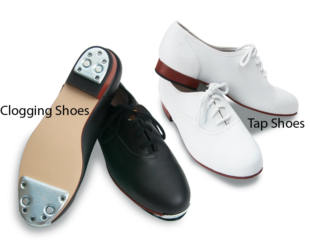 Clogging Shoes vs Tap Shoes 2
