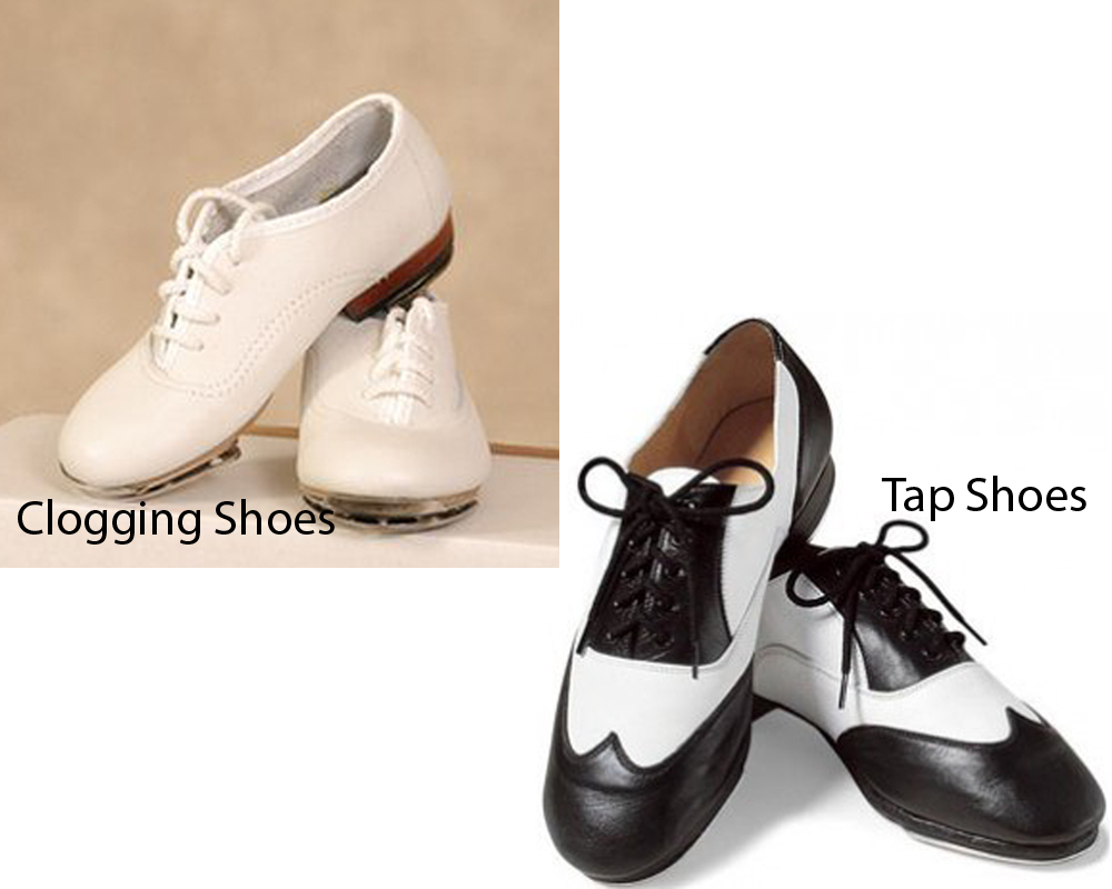 Clogging Shoes vs Tap Shoes 3