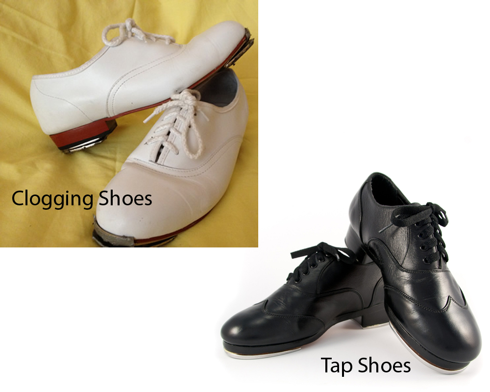Clogging Shoes vs Tap Shoes 4