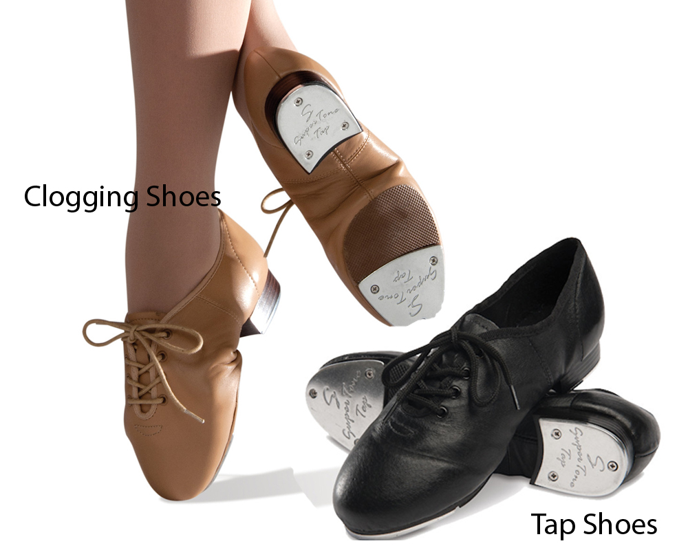 Clogging Shoes vs Tap Shoes 5