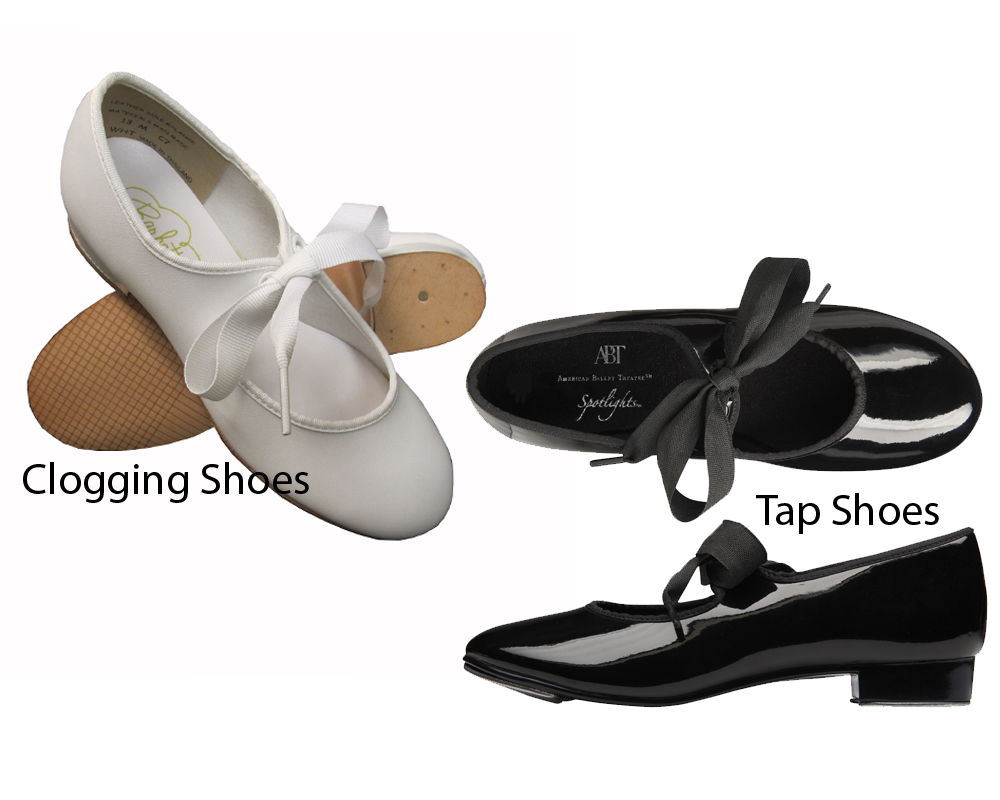 Clogging Shoes vs Tap Shoes 6
