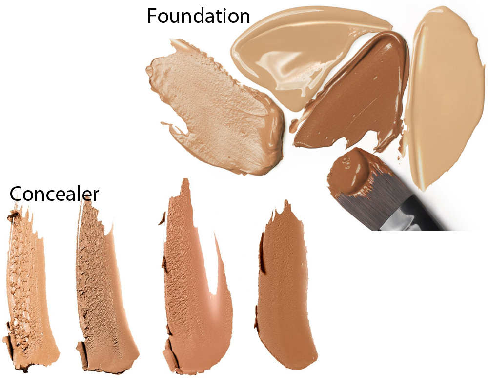 Concealer vs Foundation 1
