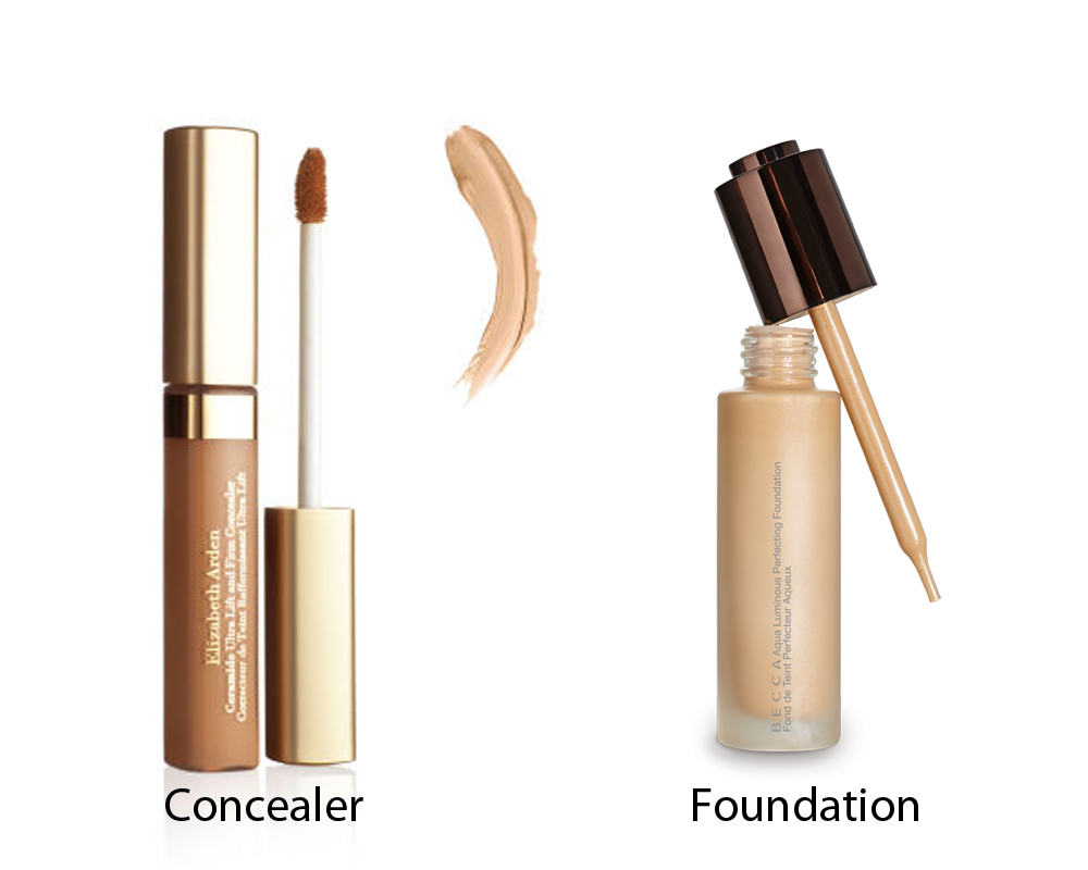 Concealer vs Foundation 2