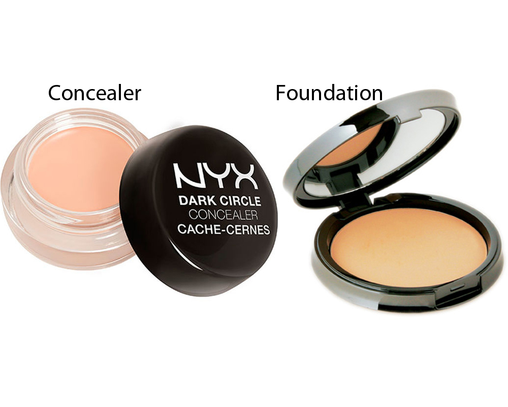 Concealer vs Foundation 3