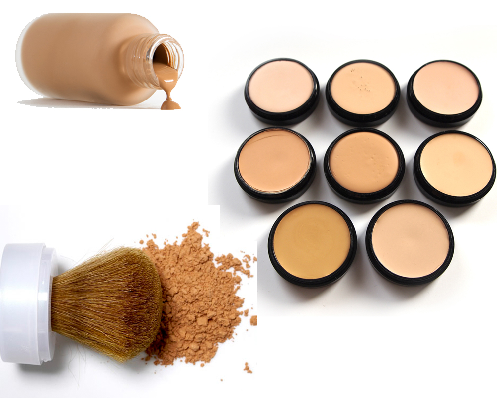Concealer vs Foundation b