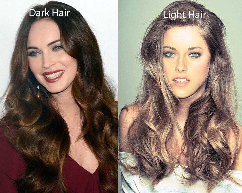 Dark Hair vs Light Hair 1