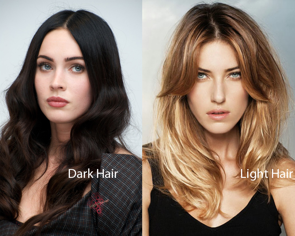 Dark Hair vs Light Hair 2