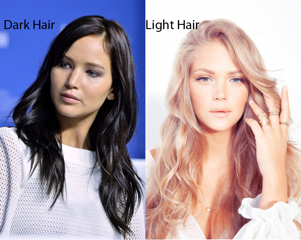 Dark Hair vs Light Hair 3