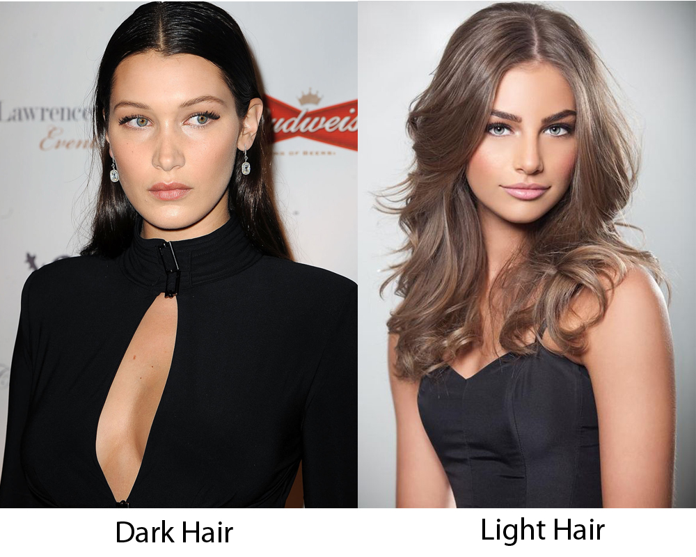 Dark Hair vs Light Hair 5