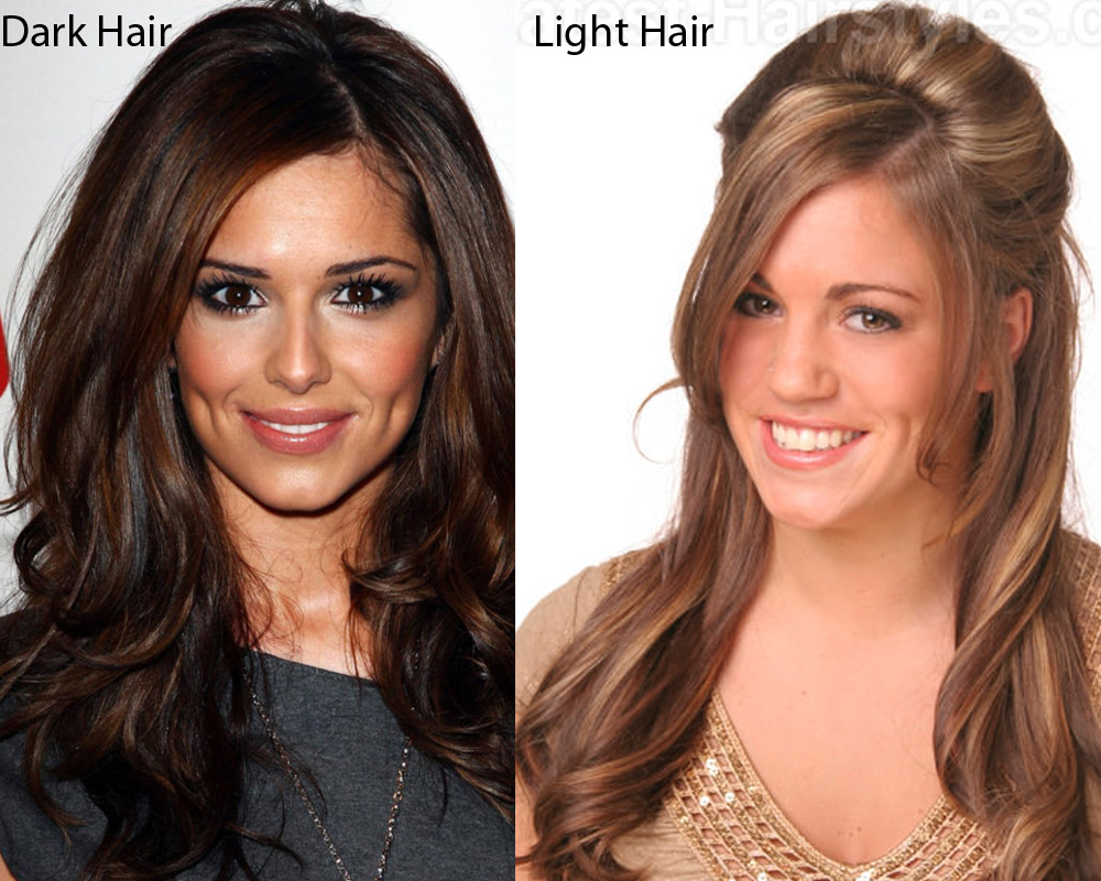 Dark Hair vs Light Hair 6