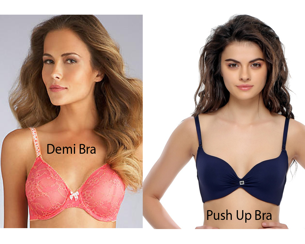 Demi Bra vs Push Up Bra 6
